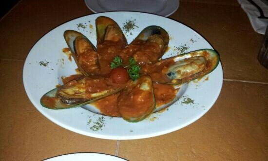 Romano Ristorante: Marinara Mussels