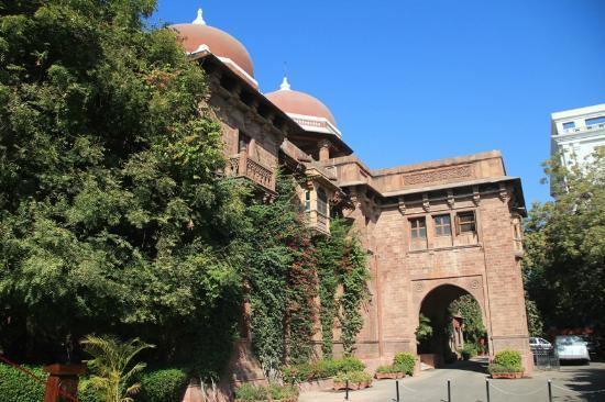 Ajit Bhawan: Exterior 