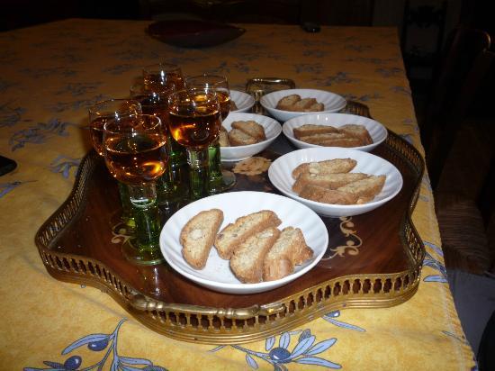 Agriturismo Le Pozze : Biscotti!
