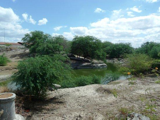 Caico, RN: Poço de Santana- Que nunca seca, segundo povo local....