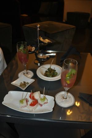 Hotel Palazzo Decumani: Coctel de bienvenida