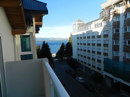 Ayres del Nahuel: Vista da sacada do apartamento que ficamos