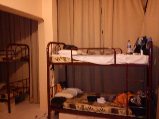 Pillow Talk Backpacker's Hostel: My bed :D I miss it :D