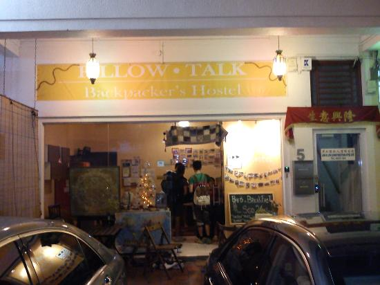 Pillow Talk Hostel Pte Ltd: The facade :)