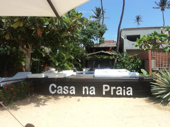 Casa na Praia: Excelente lugar!