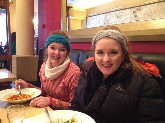 Jedermann's: enjoying a great pasta