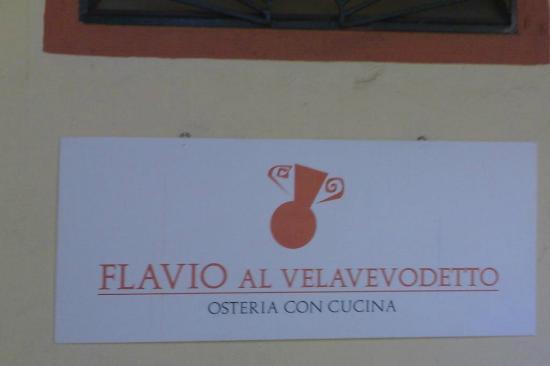 Flavio Al Velavevodetto: Flavio
