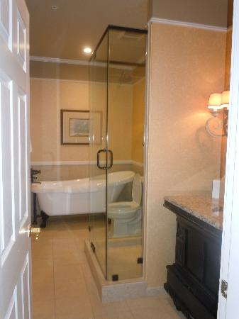 The Vendue Charleston's Art Hotel: Loved the tub!