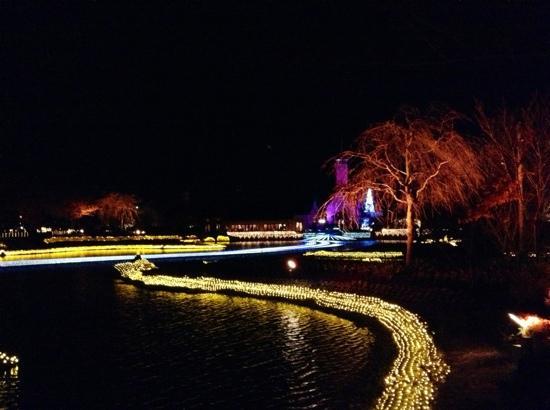 桑名市, 三重県, 鏡池手前から