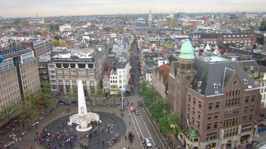 MEININGER Hotel Amsterdam City West: View from the ferris wheel