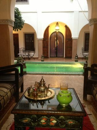 Riad el Noujoum: Au calme