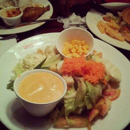 Upperstar: The ever large plate of Chef's Salad