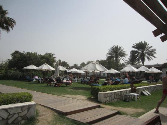 Dubai Marine Beach Resort and Spa: the pool area
