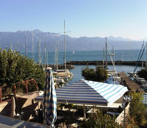 La Barca in Lutry on Lake Geneva