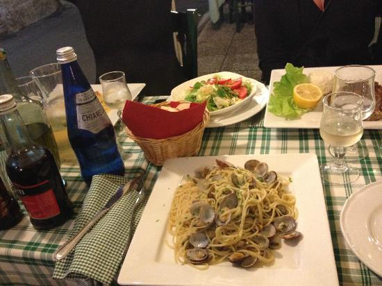 Ristorante Crispi : Delicious food