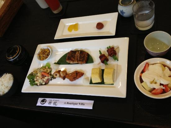The Seiryu Villas: Japanese breakfast