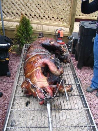 Mogul's Sports Pub & Restaurant : The star of Mogul's Annual Pig Roast!