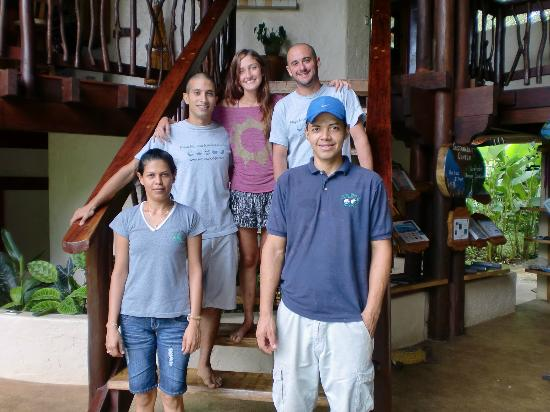 Playa Nicuesa Rainforest Lodge: Staff de Nicuesa Lodge