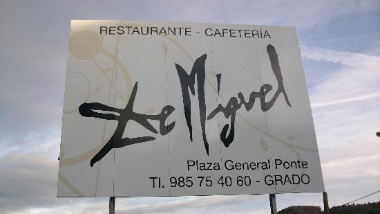 De Miguel : cartel publicitario