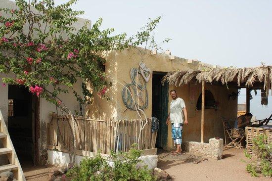 Sindbad Camp: De keuken en de kok.