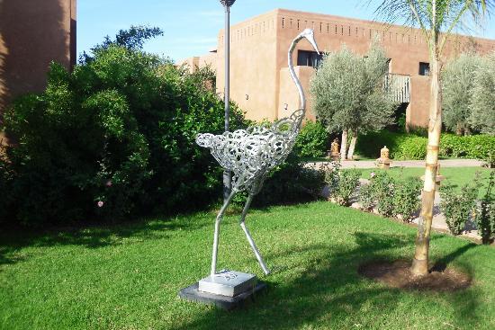 Kenzi Club Agdal Medina: Les jardins de l4hotel