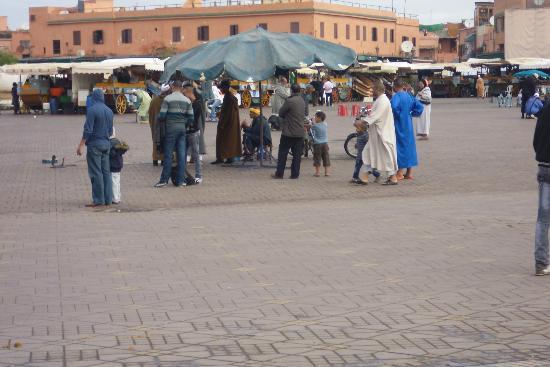 Kenzi Club Agdal Medina: Place Djema