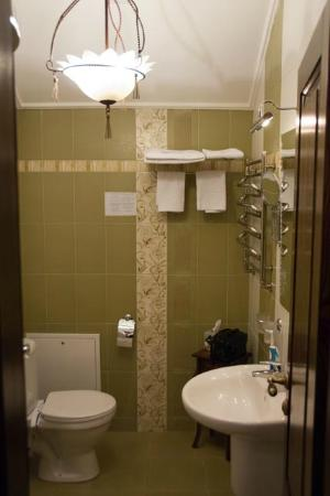 Оселя Киев: Sky view room bathroom