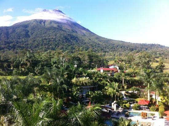 The Royal Corin Thermal Water Spa & Resort: view from room 402