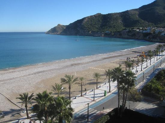 Hotel Kaktus Albir: View from my balcony