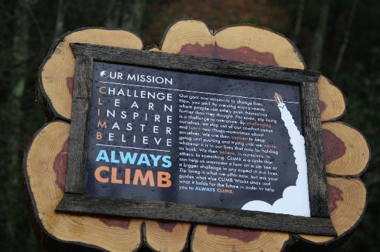 CLIMB Works - Smoky Mountains: CLIMB Works motto, remember this