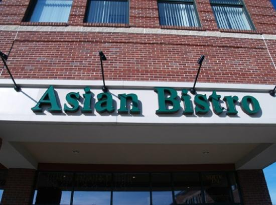 Asian Bistro: front