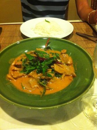 """Orchids : porc """"panaeng"""" très goûteux"""