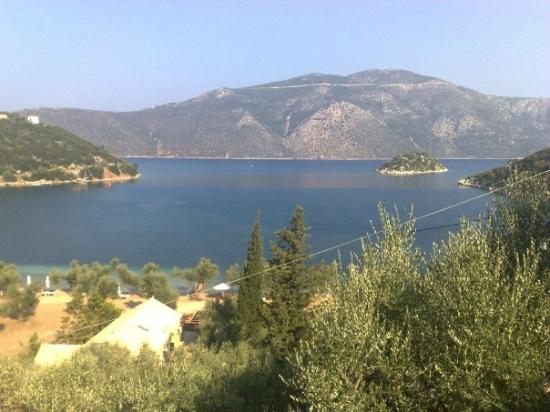 Vathy, Greece: Vue panoramique de la maison ….
