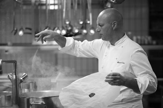 Restaurant O'Terroirs: Eric Mazéas, Chef de cuisine