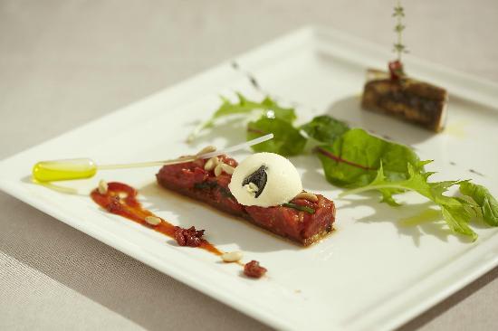 Restaurant O'Terroirs: Canelloni de chèvre frais