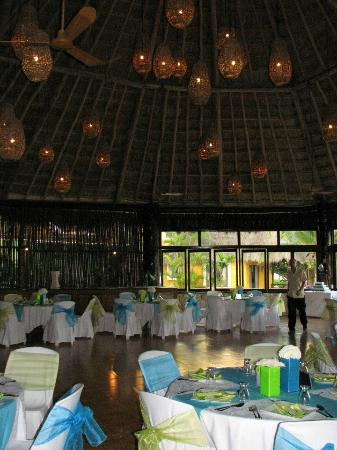 Mahekal Beach Resort: Private Reception inside Aventura Restaurant
