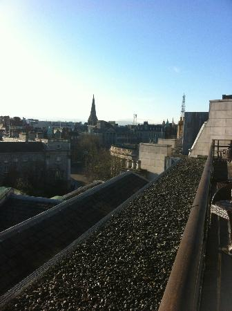 The Westin Dublin: Daytime from my balcony