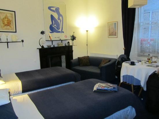 Tweed View House: first-floor room