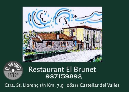 Castellar del Valles, Spain: Dibujo masia