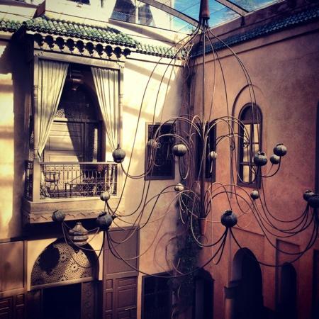 Riad Noir d'Ivoire: courtyard