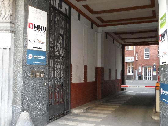 All In Hostel: Hotel liegt verstckt im Hinterhof