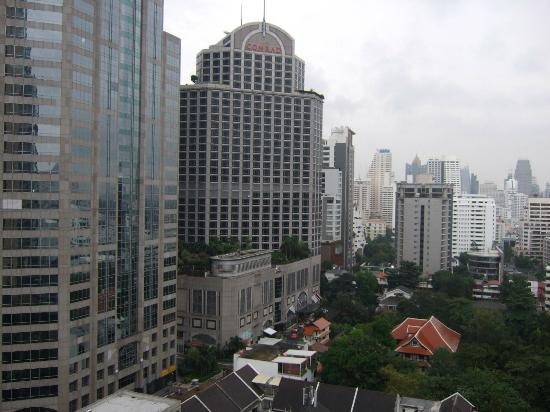 Oriental Residence Bangkok: Room with a view....