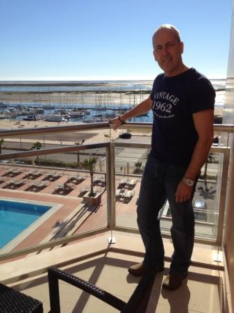 Real Marina Hotel & Spa: balcony real marina