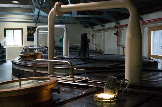 Glenfiddich Distillery: vats