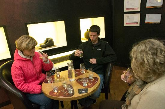 Glenfiddich Distillery: Glenfiddich tasting room
