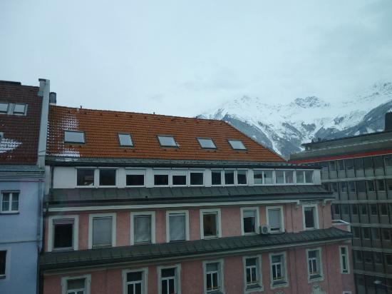Ibis Innsbruck: Veduta dalla camera!