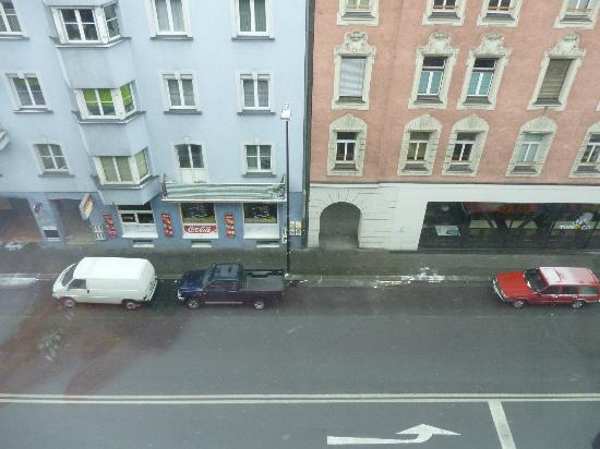 ไอบิสอินส์บรุค ฮอพท์บาห์นโฮฟ: Veduta dal 4° piano