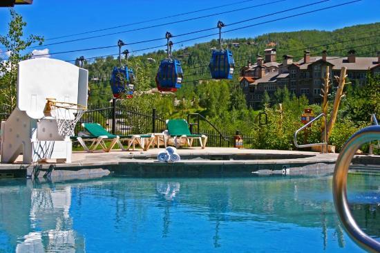 Shadowbrook Condominiums: pool view