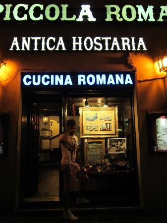 Fuori picture of antica osteria piccola roma rome for Cucina romana antica