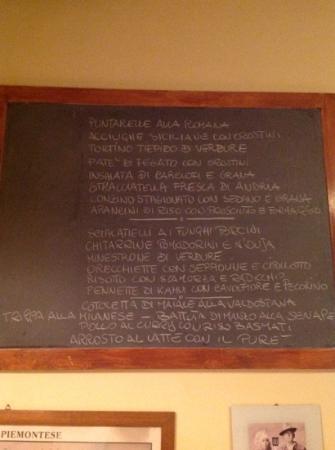 BBQ: il menù del giorno 12/12/12